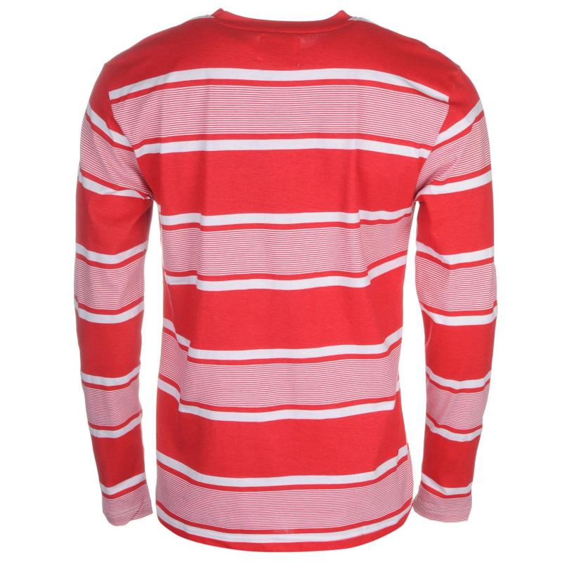 Giorgio Retro LS Tee Sn61 Red/White