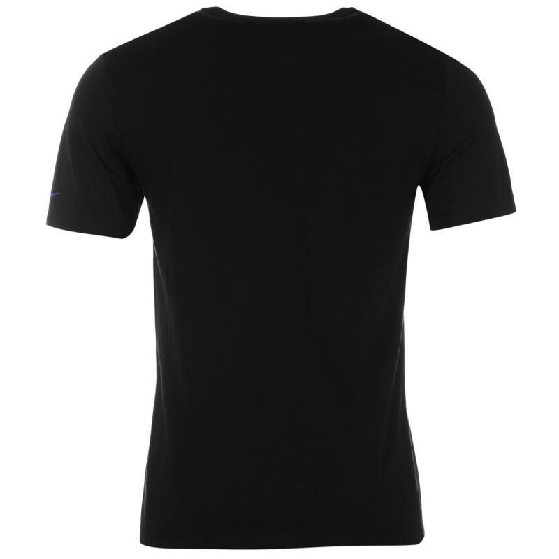 Tričko Nike Just Do It Rip Junior T Shirt Black, Velikost: 7 - 8 let (SB)