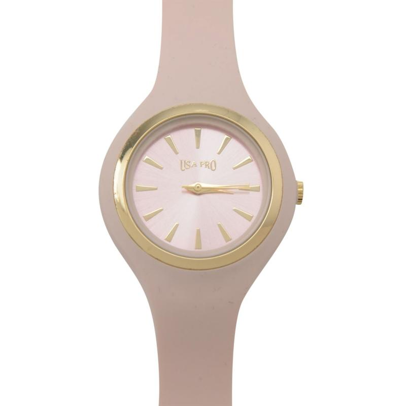 USA Pro Silicon Watch Ladies Pink