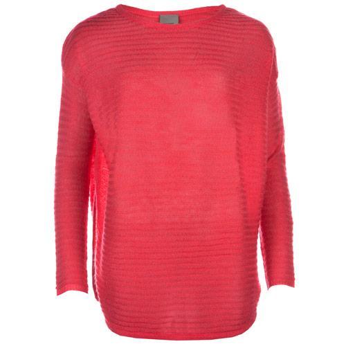 Svetr Vero Moda Womens Mika Knit Jumper Coral