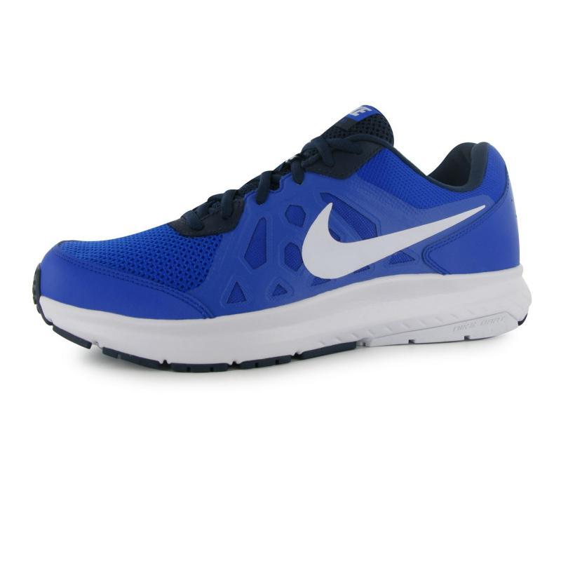Nike Dart 11 Mens Running Shoes Black/Wht/Blue, Velikost: UK10 (euro 44)