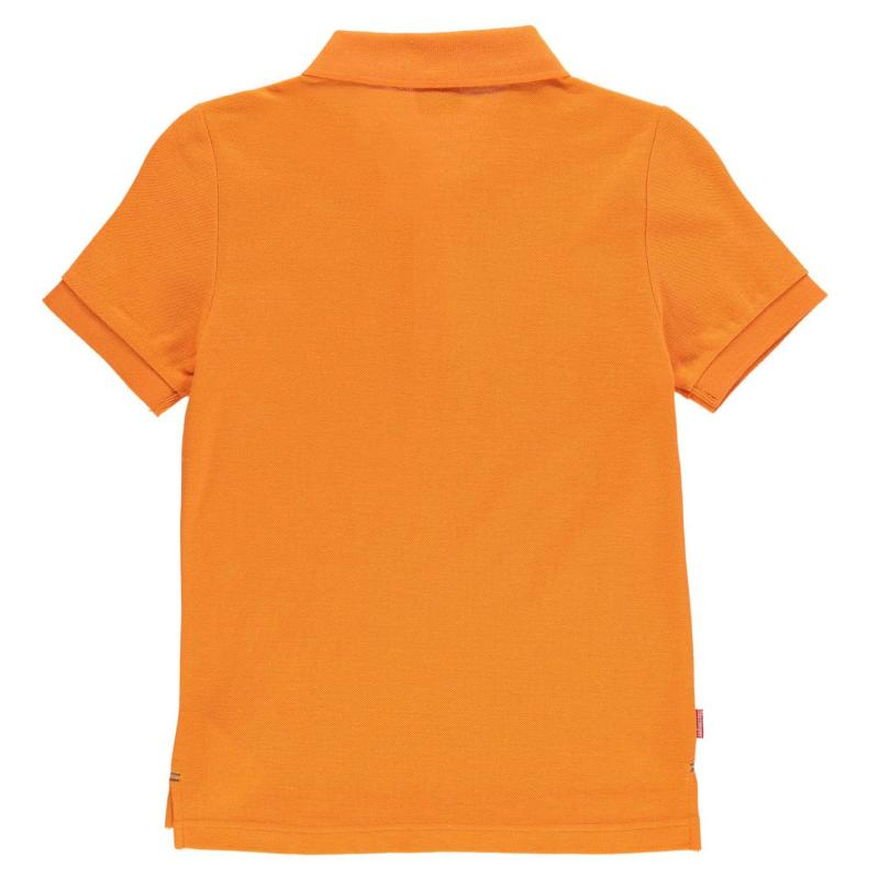 Slazenger Plain Polo Shirt Junior Boys Royal