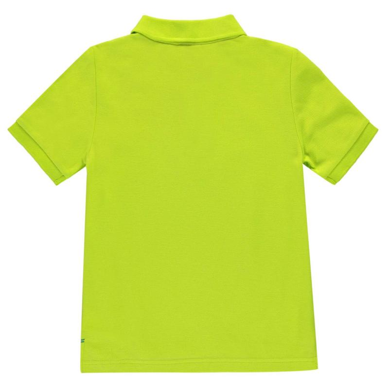 Slazenger Plain Polo Shirt Junior Boys Navy