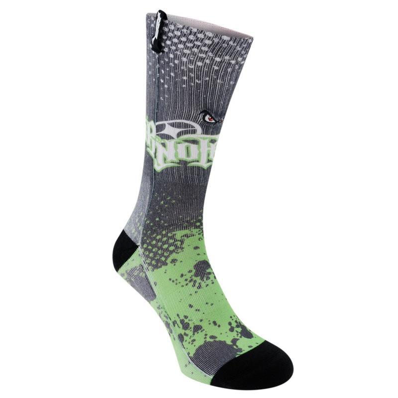 Ponožky No Fear 1 Pack Iowa Socks Junior Boys Green/Black