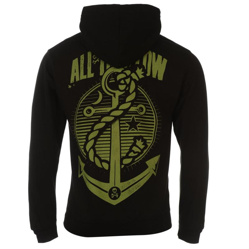 Mikina Official All Time Low Hoody Mens Holds It Down, Velikost: XL