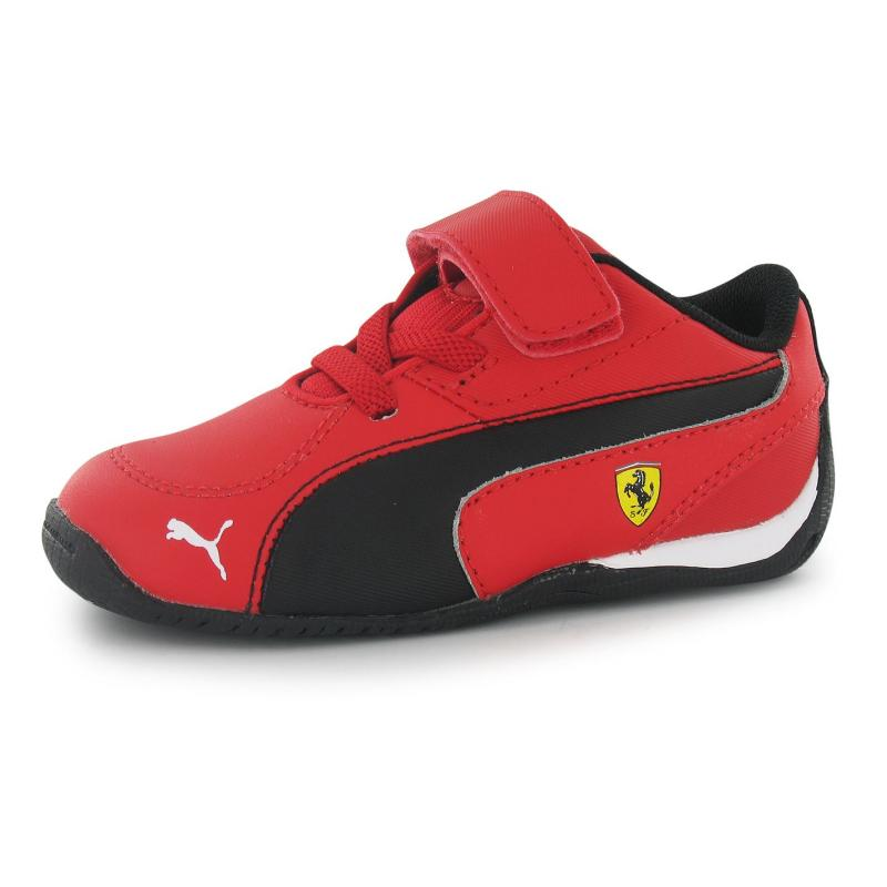Boty Puma Drift Cat 5 Scuderia Ferrari Infants Trainers Rosso/Black