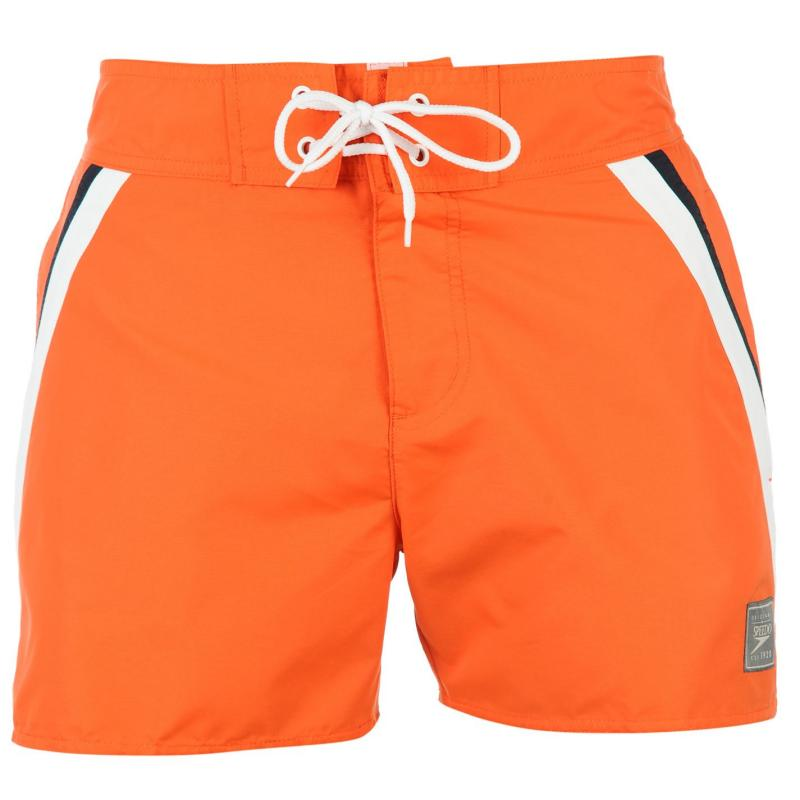 Speedo Retro Leisure Swimming Trunks Mens Orange