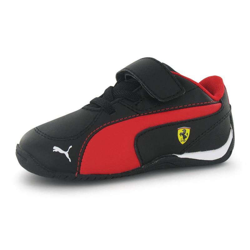 Boty Puma Drift Cat 5 Scuderia Ferrari Trainers Children Black/Rosso