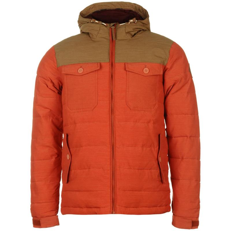 Bunda ONeill Charger Jacket Mens Red, Velikost: S