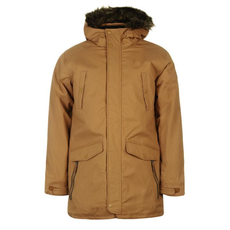 Bunda ONeill Journey Parka Jacket Mens Brown, Velikost: S
