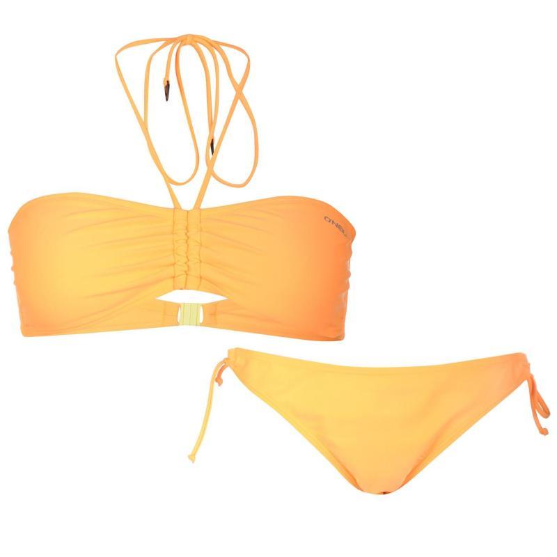 Plavky ONeill Bandeau Bikini Ladies Citrine, Velikost: 40B