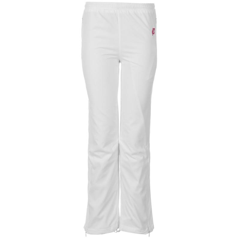 Prince Warm Up Pants Girls White Berry