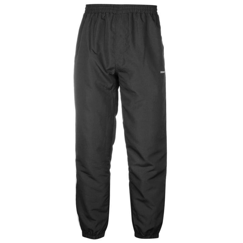 Tepláky Donnay Closed Hem Woven Pants Mens Black, Velikost: S