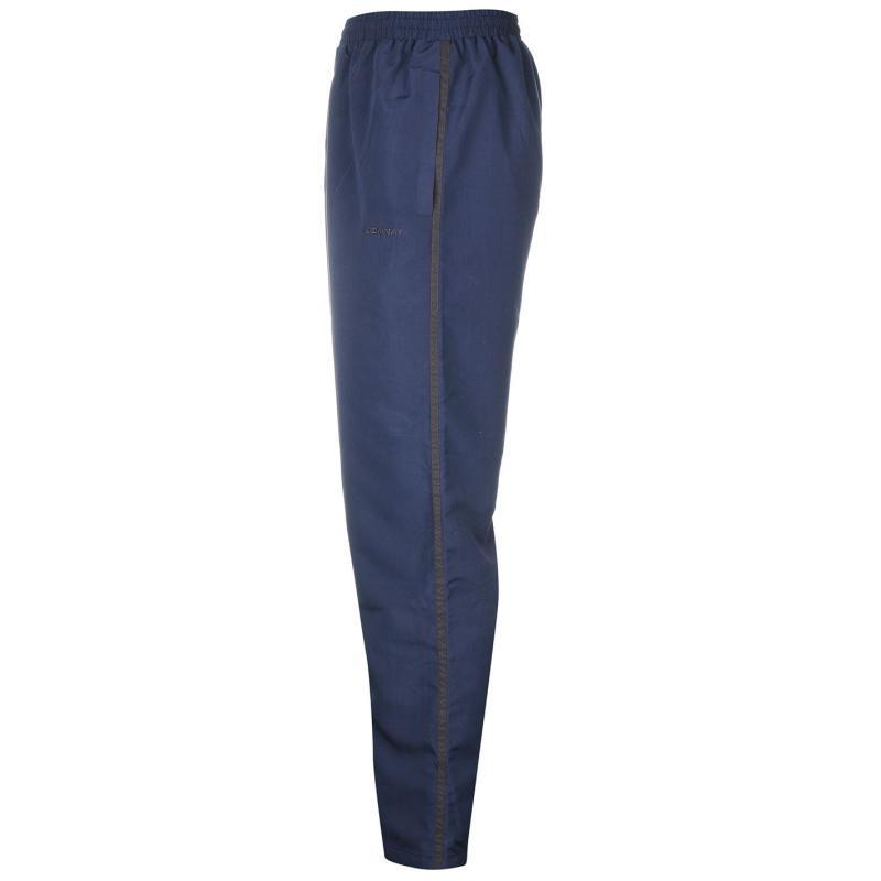 Tepláky Donnay Open Hem Woven Pants Mens Black