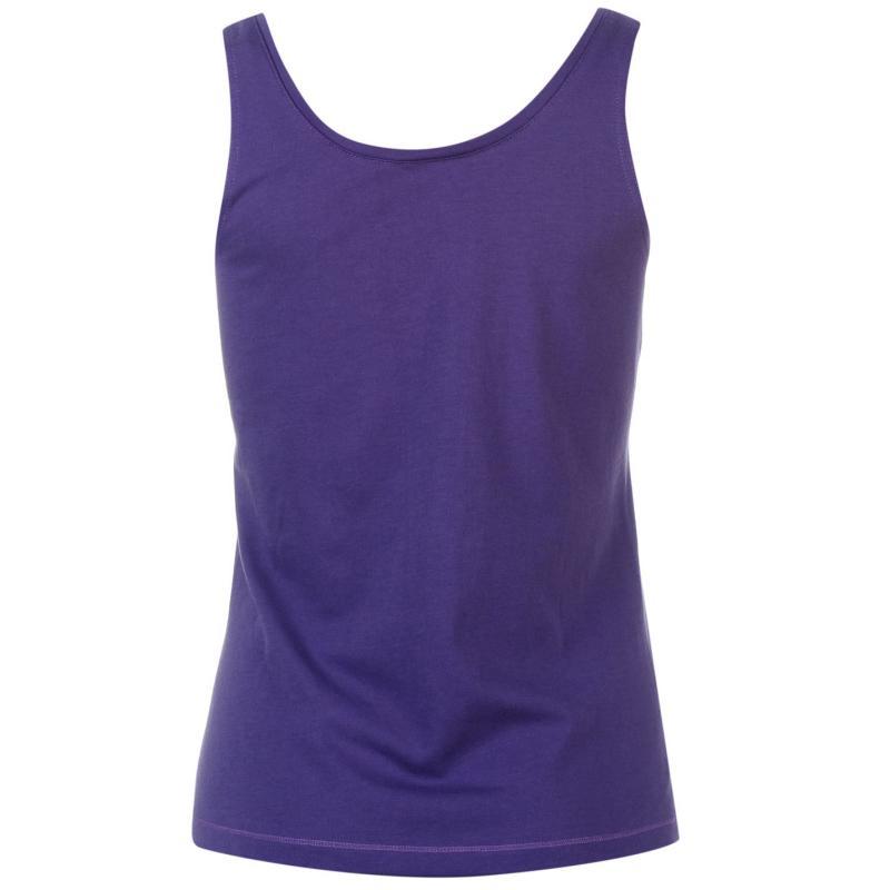 LA Gear Strap Vest Womens Purple