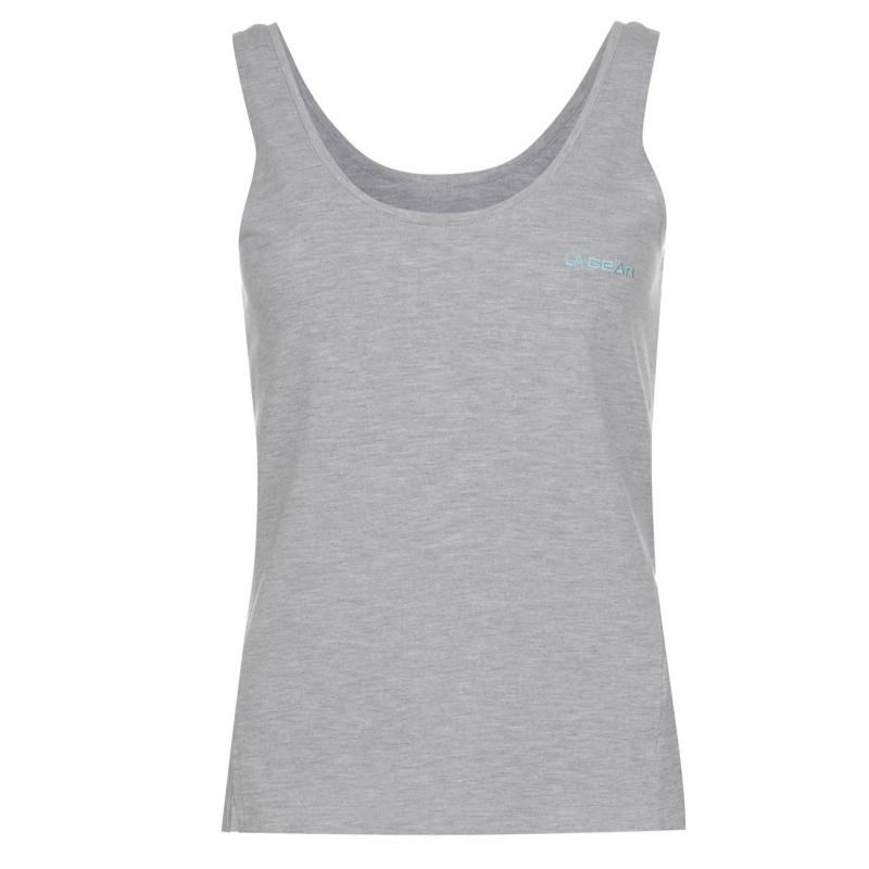 LA Gear Strap Vest Womens Grey Marl