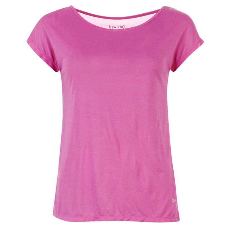 USA Pro Boyfriend T Shirt Pink