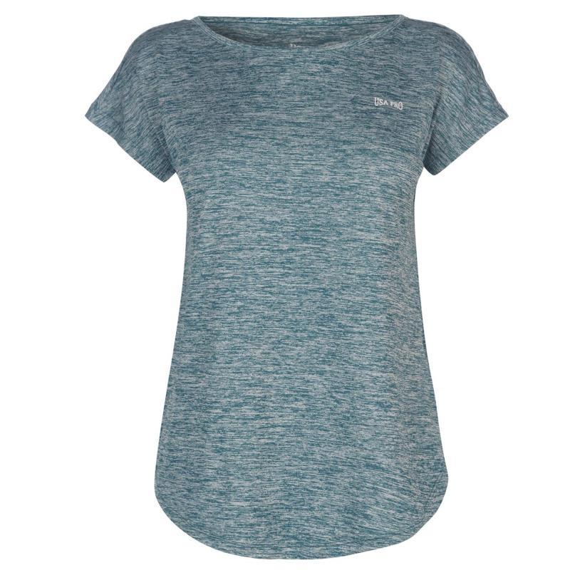 USA Pro Boyfriend T Shirt Coral