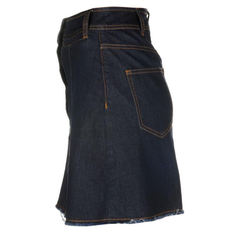 Sukně Vero Moda Merle A Line Skirt Denim