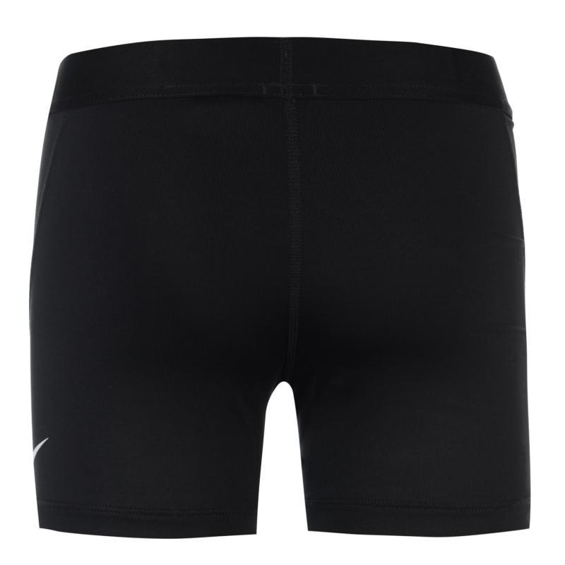 Nike Pro Shorts Junior Girls Black/White
