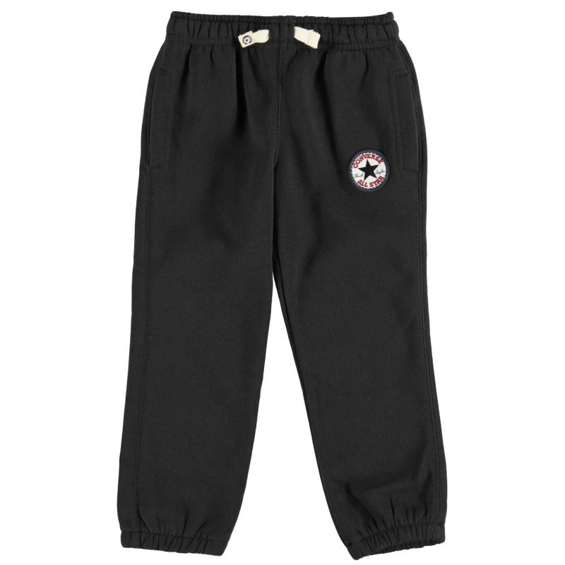 Tepláky Converse Knitted Joggers Black