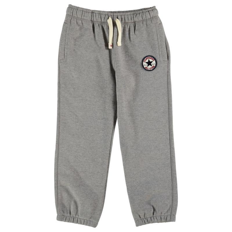 Tepláky Converse Knitted Jogging Bottoms Child Boys Black