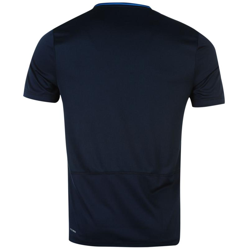 Reebok Workout T Shirt Mens CollegiateNavy