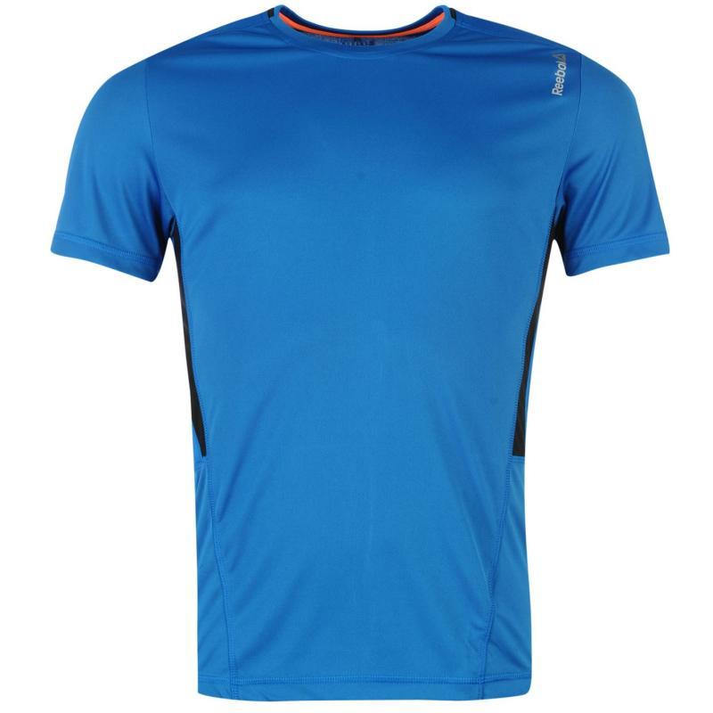 Reebok Workout T Shirt Mens BlueSport