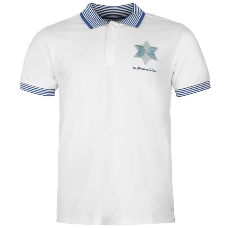 Source Lab Football Club Founding Father Polo Shirt White