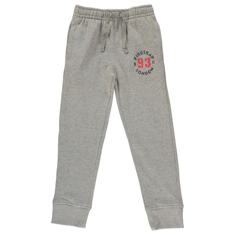 Tepláky Firetrap Jogging Bottoms Junior Boys Snorkel Blue