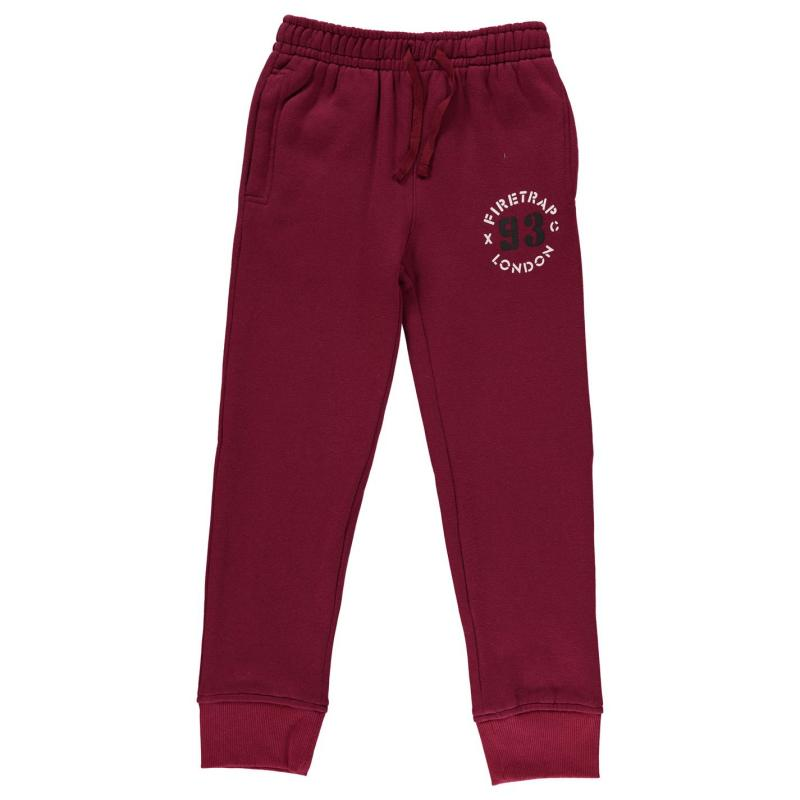 Tepláky Firetrap Jogging Bottoms Junior Boys Grey Heather