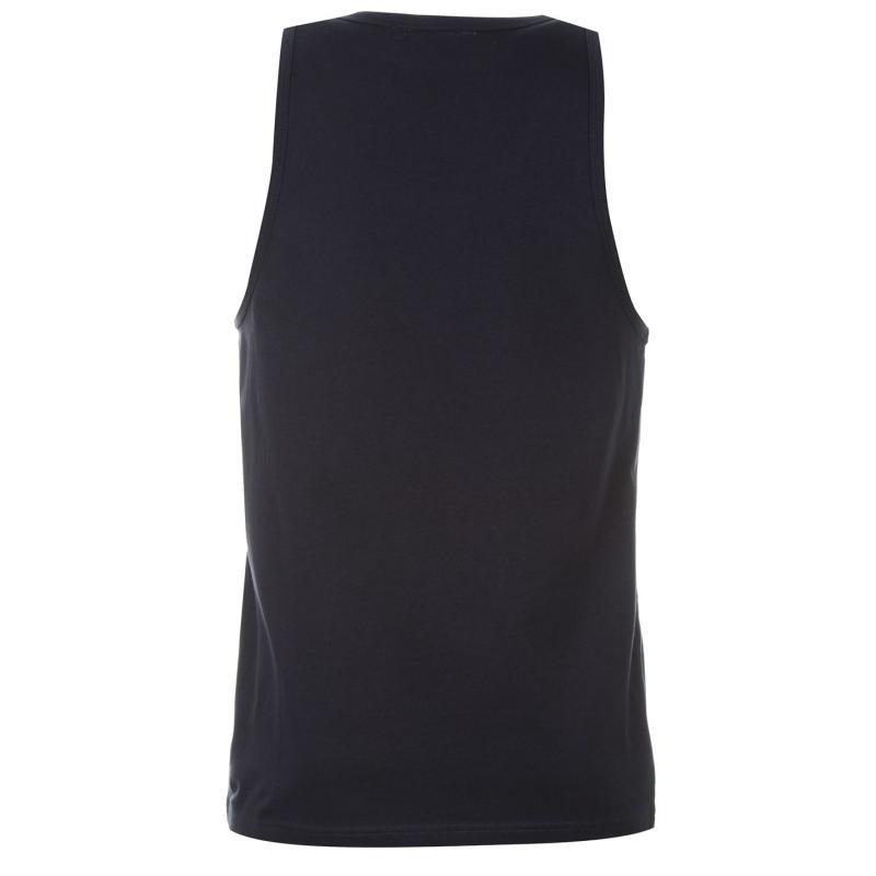 Tílko Pierre Cardin Print Vest Mens Navy