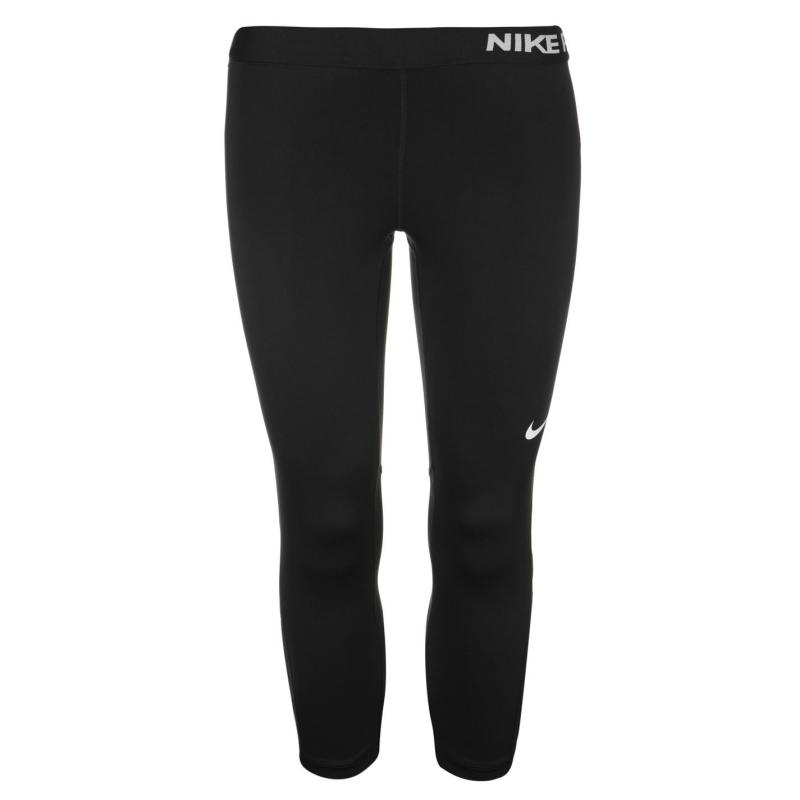 Nike Pro Capri Pants Ladies Black