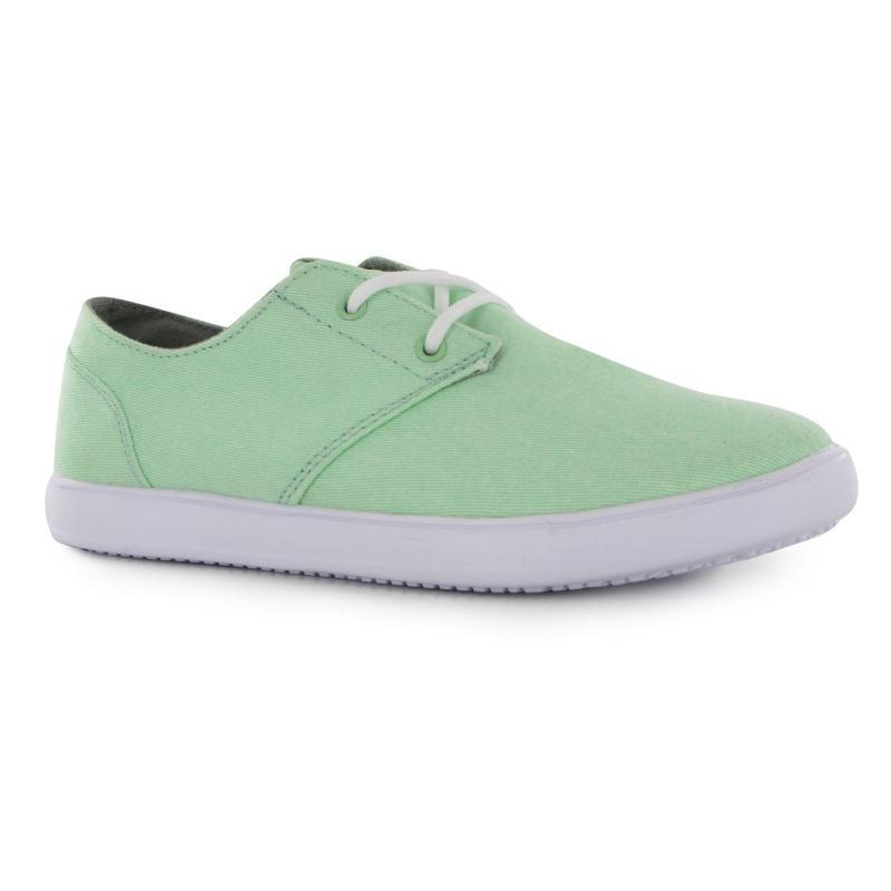 Hi Tec Horizon Canvas Shoes Ladies White/Pink