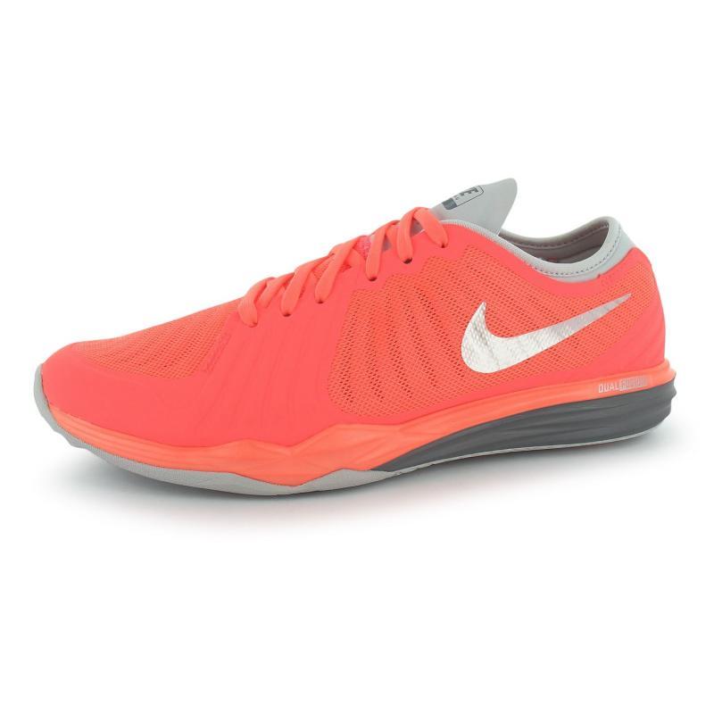 Boty Nike Dual Fusion Ladies Training Shoes Mango/Platinum, Velikost: UK6 (euro 39)