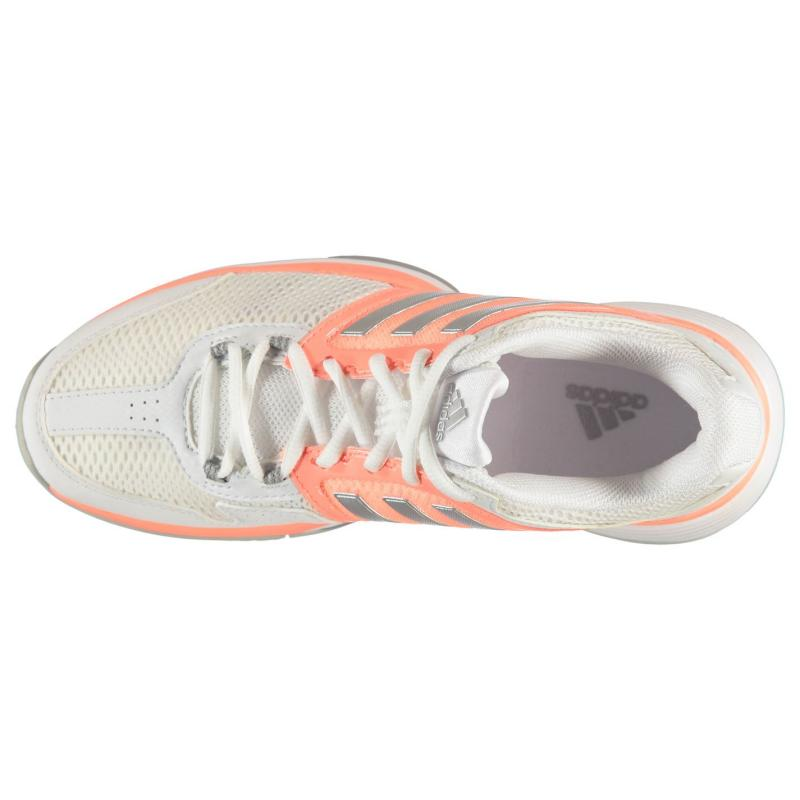 Boty adidas Barricade Club Ladies Tennis Shoes White/Pink