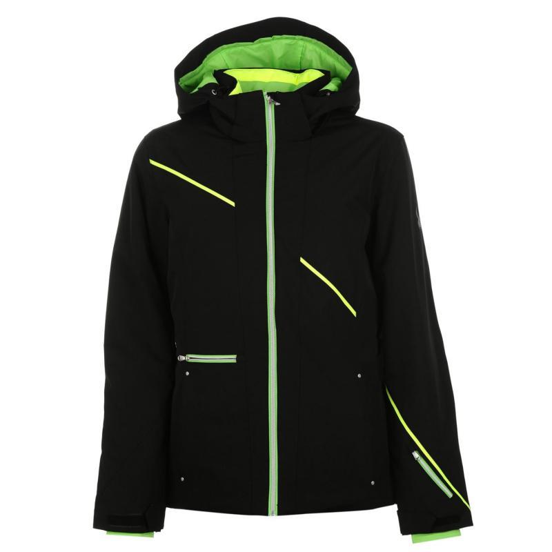 Bunda Spyder Previal Jacket Ladies Black, Velikost: 10 (S)