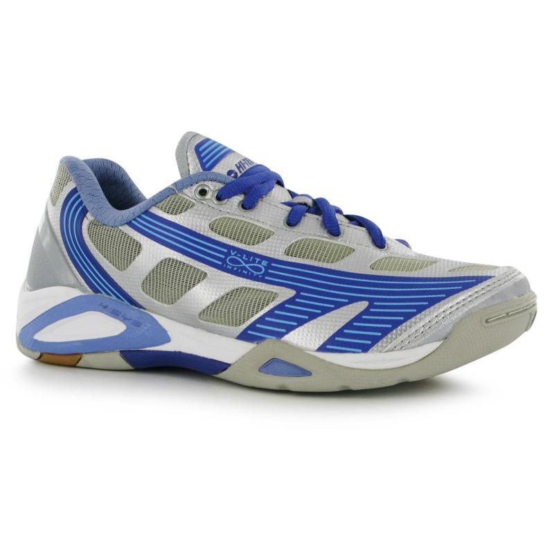Hi Tec Infinity Ladies Squash Shoes Silvr/Lilac/Pur
