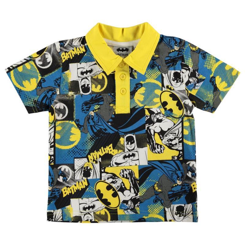 Character Polo Shirt Infant Boys Batman