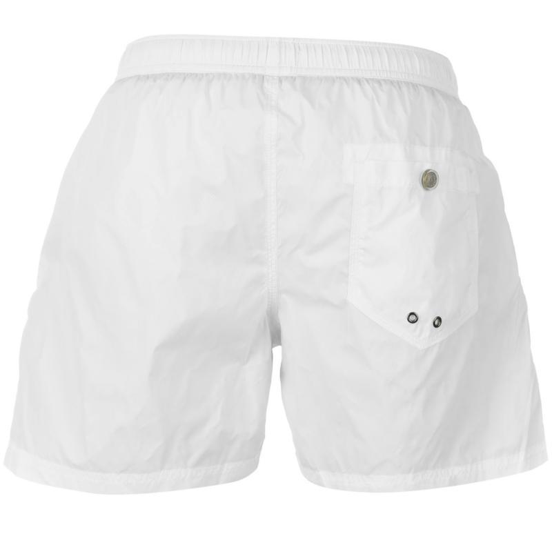 Replay 5 Basic Swim Shorts Mens White