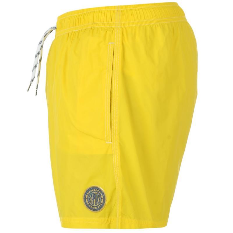 Replay Basic Swim Shorts Mens Yellow