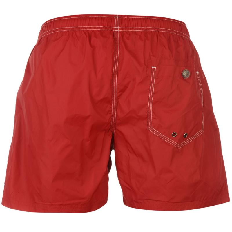 Replay Basic Swim Shorts Mens Red