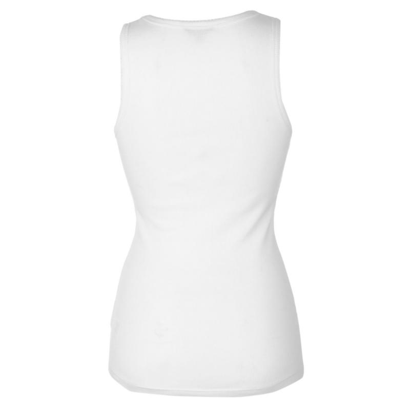 Miso Ribbed Vest Womens Black