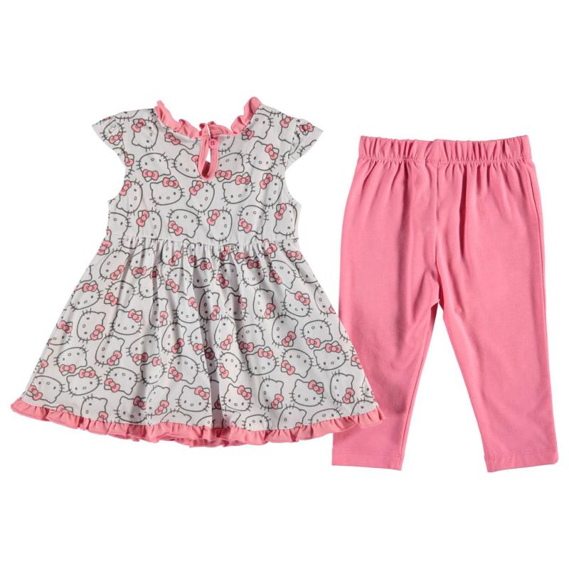 Šaty Character 3 Piece Dress Set Baby Girls Hello Kitty
