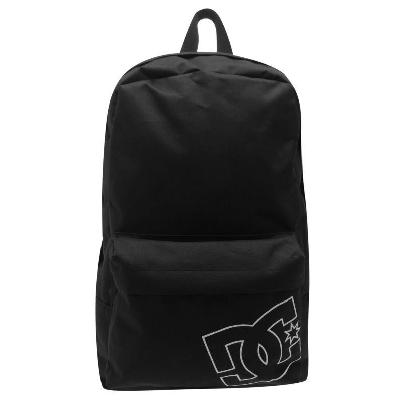 DC Daylie Solid Back Pack Mens Black