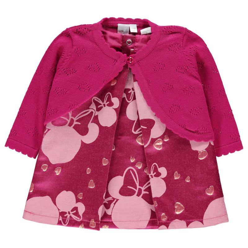 Šaty Disney Character 2 Piece Dress Set Baby Girls Disney Minnie
