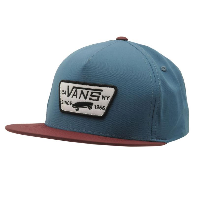 Vans Patch Mens Snapback Cap Charcoal