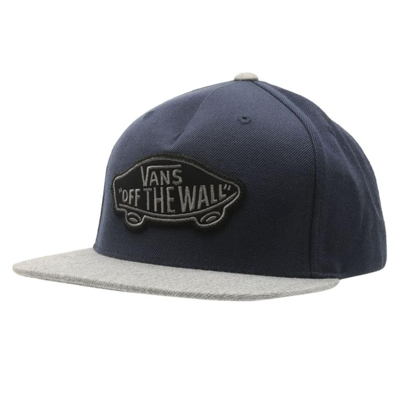 Vans Patch Mens Snapback Cap Suiting Blue