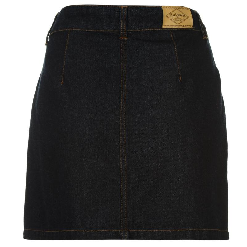 Sukně Lee Cooper A Line Skirt Ladies Indigo Denim