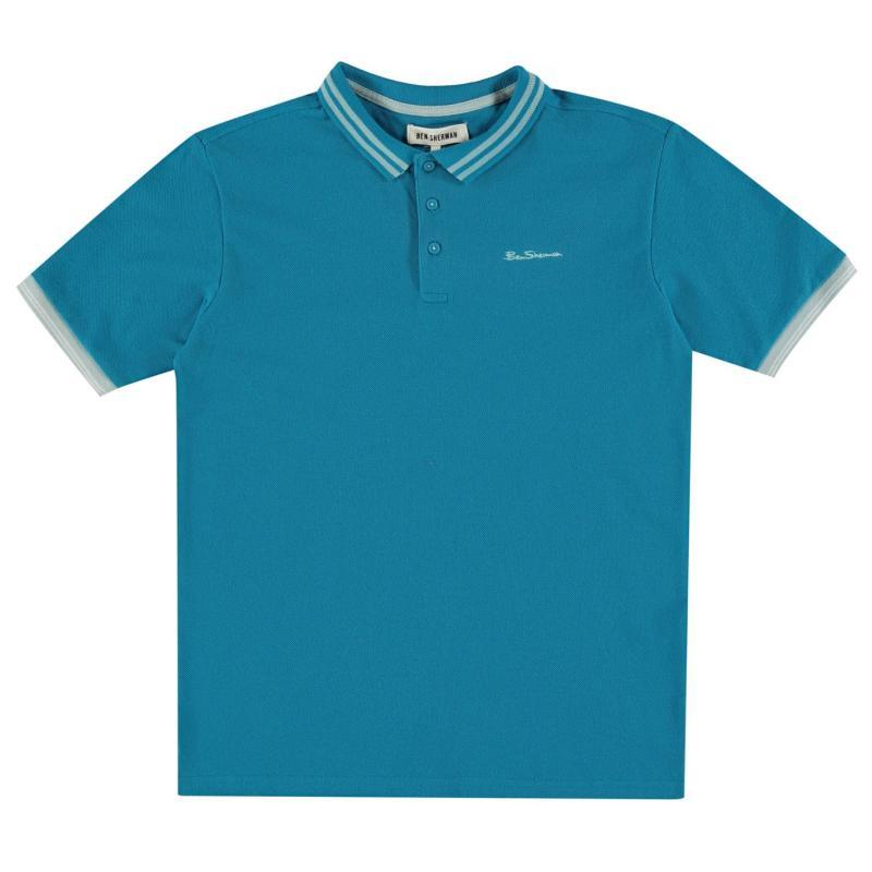 Ben Sherman 66V Polo Shirt Junior Boys Grey